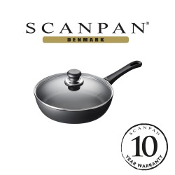 SCANPAN Classic Saute Pan with Lid - 26cm (with 10 year warranty)  26101200 image here