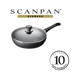 SCANPAN Classic Saute Pan with Lid - 28cm (with 10 year warranty) image here