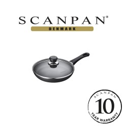 SCANPAN Classic Try Me Fry Pan with Lid - 24cm (with 10 year warranty)  24151204 image here