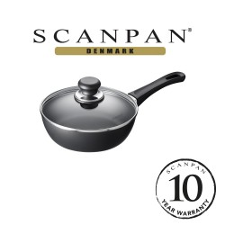 SCANPAN Classic Try Me Saute Pan with Lid - 20cm (with 10 year warranty)  20101204 image here