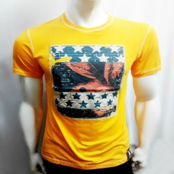 PLAYBOY, TSHIRT 373, YELLOW, 18703732 image here