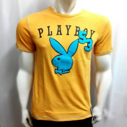 PLAYBOY, TSHIRT 605, YELLOW, 1870605 image here