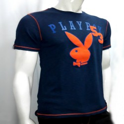 PLAYBOY, TSHIRT 605, BLUE, 18706053 image here