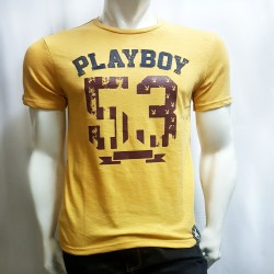 PLAYBOY, TSHIRT 613, YELLOW, 18706131 image here