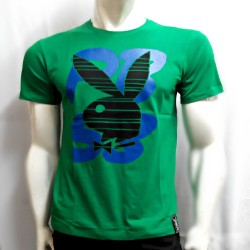 PLAYBOY, TSHIRT 942, GREEN, 18709421 image here
