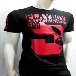 PLAYBOY, TSHIRT , BLACK, 18787872 image here