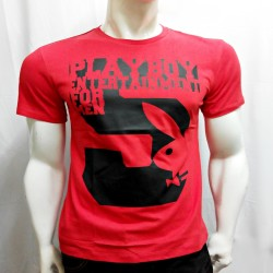 PLAYBOY, TSHIRT , RED, 18787873 image here