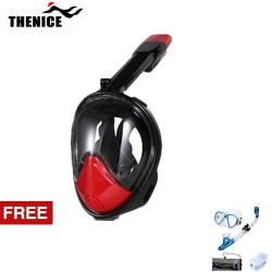 Thenice, M2098g ,Red,with free snorkeling set ,Blue,Thenice M2098g Red with free snorkeling set Blue image here