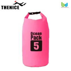 B&D Tech Innovation Inc.-Waterproof Dry Bag 5L Pink image here
