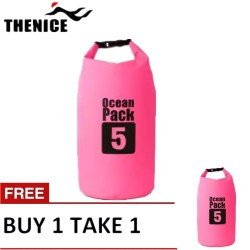 B&D Tech Innovation Inc.-Waterproof Dry Bag 5L Pink Buy 1 Take 1 image here