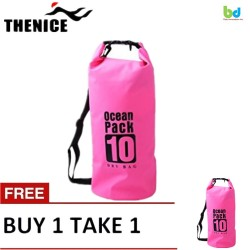 Thenice Waterproof Dry Bag 10L Pink Buy 1 Take 1 image here