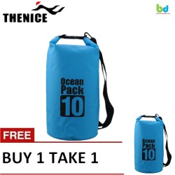 Thenice Waterproof Dry Bag 10L Blue Buy 1 Take 1 image here