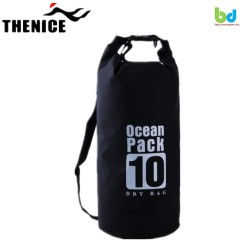 Thenice Waterproof Dry Bag 10L Black image here