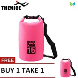 Thenice Waterproof Dry Bag 15L Pink Buy 1 Take 1 image here