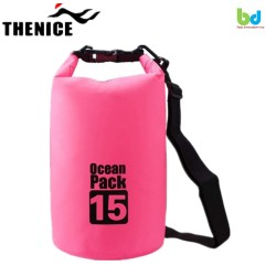 Thenice Waterproof Dry Bag 15L Pink image here
