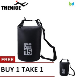 Thenice Waterproof Dry Bag 15L Black Buy 1 Take 1 image here