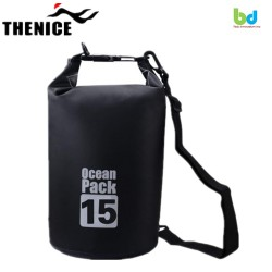 Thenice Waterproof Dry Bag 15L Black image here