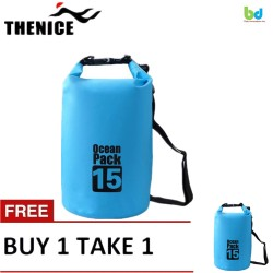Thenice Waterproof Dry Bag 15L Blue Buy 1 Take 1 image here
