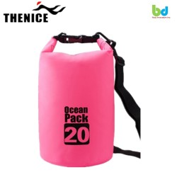 Thenice Ocean Pack Portable&Outdoor Waterproof Dry Bag 20L Pink image here