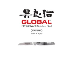 Global GSF - 16 Peeling Knife - Straight 6cm image here