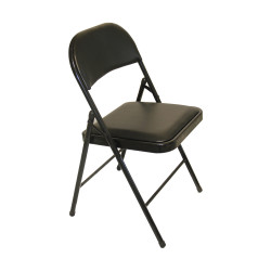 IGO Home Furniture, GAEL Foldable Chair, black, DS096B image here