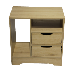 IGO Home Furniture, Molly 1 layer bedside Cabinet, beige, ST-2+1-BE image here