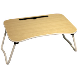 IGO Home Furniture, Byron Foldable laptop Table, beige,  PFT-59 image here