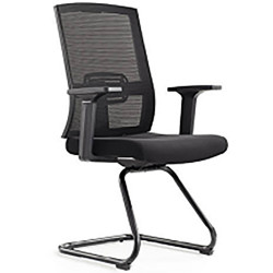 IGO Home Furniture Visitor Chair Mesh Type black V6231 image here