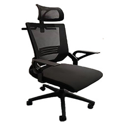 IGO Home Furniture, Executive High back Chair, black, H921A image here
