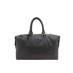 Carson, Black Milled Duffle image here