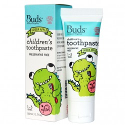 Children's Toothpaste with Xylitol Green Apple image here