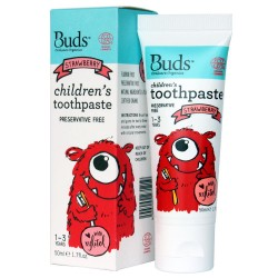 Children's Toothpaste with Xylitol Strawberry,9555099 101028 image here
