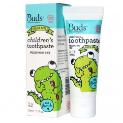 Children's Toothpaste with Fluoride Green Apple image here