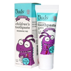 Children's Toothpaste with Fluoride Blackcurrant image here