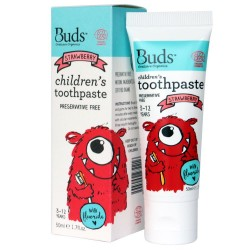 Children's Toothpaste with Fluoride Strawberry image here