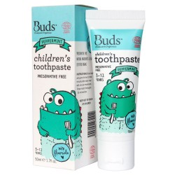 Children's Toothpaste with Fluoride Peppermint image here