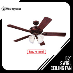 52 INCHES CEILING FAN SWIRL 78568 image here