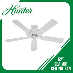 CLNG FAN SEA AIR 5-BLD 52 WHITE image here
