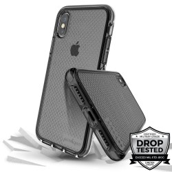 Prodigee,SAFETEE - SMOKE FOR IPHONE X/XS,Black,IPHX-SAFE-SMK image here