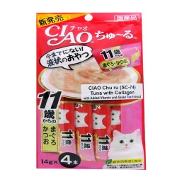 CIAO CHU RU TUNA WITH COLLAGEN 14G PACK (SC-74) image here