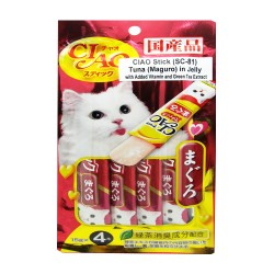 CIAO,STICK TUNA (MAGURO) IN JELLY 15G PACK (SC-81),591 image here