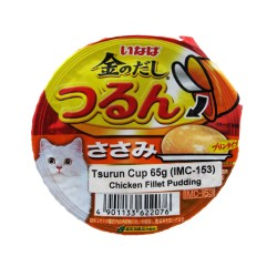 INABA CHICKEN FILLET PUDDING TSURUN CUP 65G (IMC-153) image here