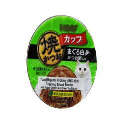 INABA TUNA (MAGURO) IN GRAVY TOPPING SLICED BONITO 80G (IMC-103) image here