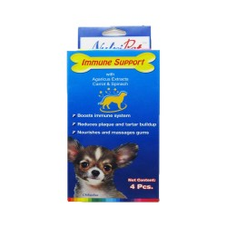 Nutripet,506-Nutrition Brush Immune Support 4Pcs,623a image here