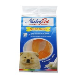 "Nutripet,524-Knotted Bone Cheese 4"" 2Pcs,626a image here"