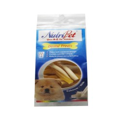 521 - NUTRIPET TWISTIX MINI CHEESE & MILK 120G image here