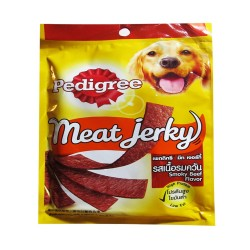 PEDIGREE MEAT JERKY SMOKY BEEF 80G image here