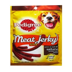 PEDIGREE MEAT JERKY STIX GRILLED LIVER 60G image here