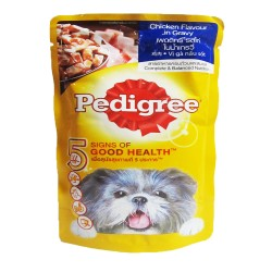 Pedigree,Pouch Chicken 130G,715a image here