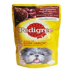 Pedigree,Pouch Grilled Liver Loaf 130G,717 image here